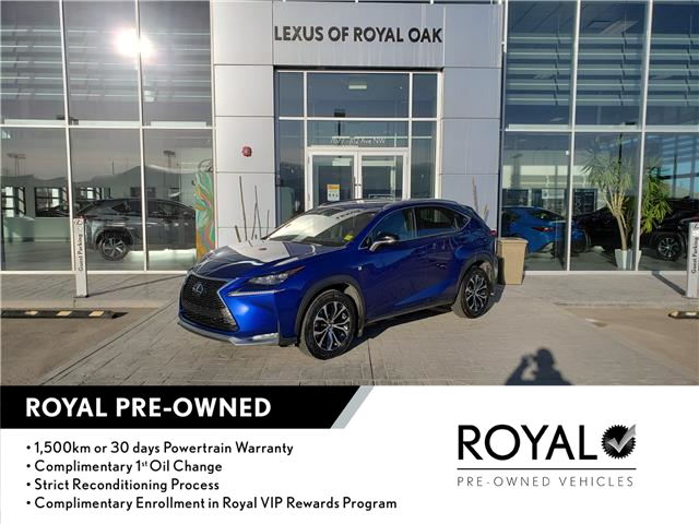 2017 Lexus NX 200t Base (Stk: L21237A) in Calgary - Image 1 of 21