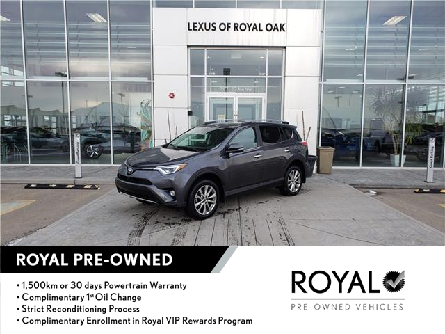 2018 Toyota RAV4 Limited (Stk: L21144A) in Calgary - Image 1 of 20