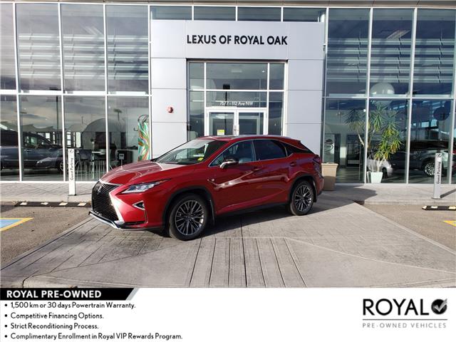 2018 Lexus RX 350 Base (Stk: L22020A) in Calgary - Image 1 of 9
