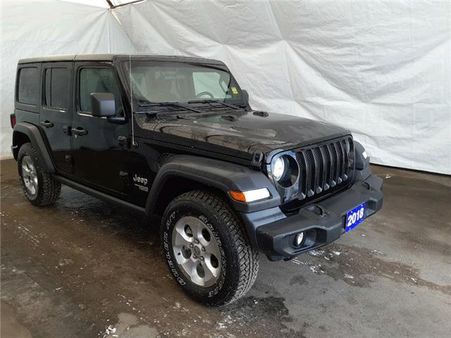 2018 Jeep Wrangler Unlimited Sport (Stk: 1817531) in Thunder Bay - Image 1 of 17