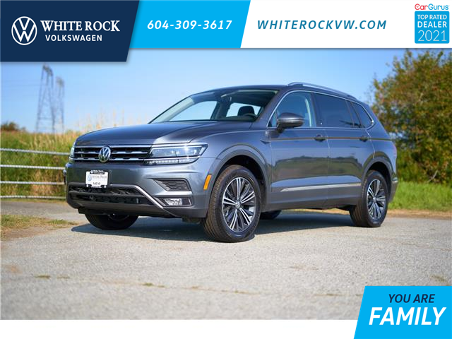 2021 Volkswagen Tiguan Highline (Stk: MT036250) in Vancouver - Image 1 of 17
