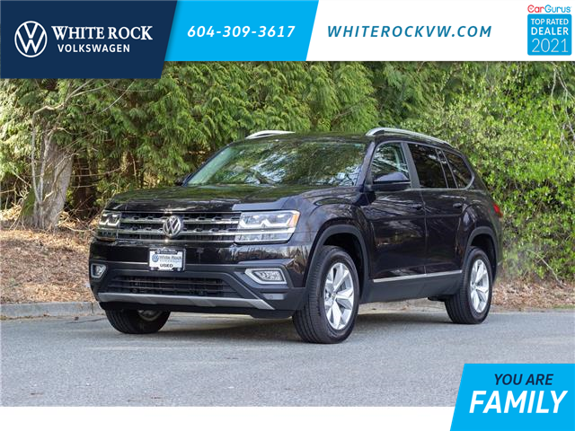 2018 Volkswagen Atlas 3.6 FSI Highline (Stk: MA560585A) in Vancouver - Image 1 of 25