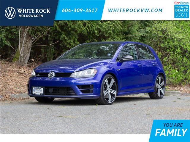 2016 Volkswagen Golf R 2.0 TSI (Stk: VW1267) in Vancouver - Image 1 of 24