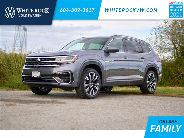 2021 Volkswagen Atlas 3.6 FSI Execline (Stk: MA590688) in Vancouver - Image 1 of 22