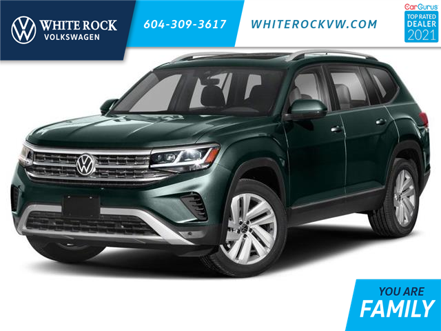 2021 Volkswagen Atlas 3.6 FSI Execline (Stk: MA595657) in Vancouver - Image 1 of 9
