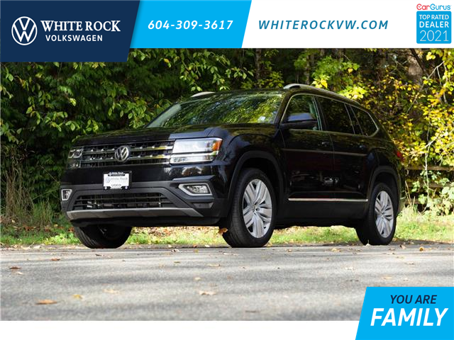 2019 Volkswagen Atlas 3.6 FSI Execline (Stk: MA605850A) in Vancouver - Image 1 of 22