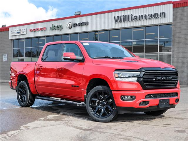 2021 RAM 1500 Sport (Stk: 21-232) in Uxbridge - Image 1 of 25
