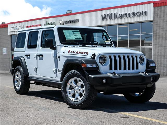 2021 Jeep Wrangler Unlimited Sport (Stk: 21-374) in Uxbridge - Image 1 of 25