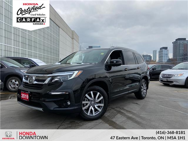 2019 Honda Pilot EX (Stk: T21021A) in Toronto - Image 1 of 28