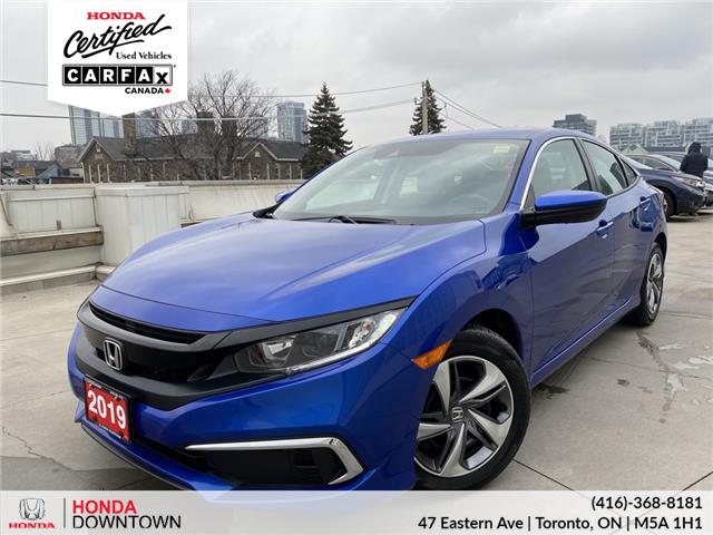 2019 Honda Civic LX (Stk: HP4131) in Toronto - Image 1 of 19