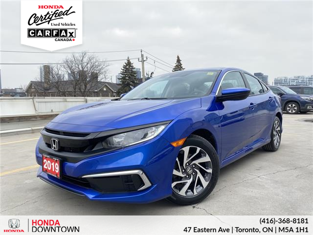 2019 Honda Civic EX (Stk: HP4138) in Toronto - Image 1 of 20