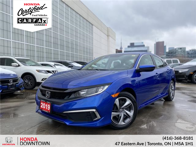 2019 Honda Civic LX (Stk: HP4180) in Toronto - Image 1 of 26