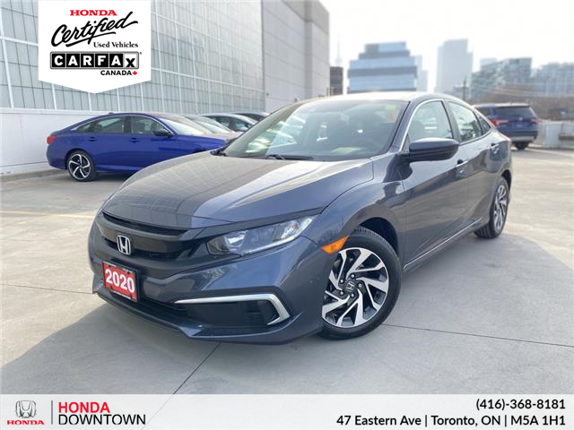 2020 Honda Civic EX (Stk: C201082A) in Toronto - Image 1 of 29