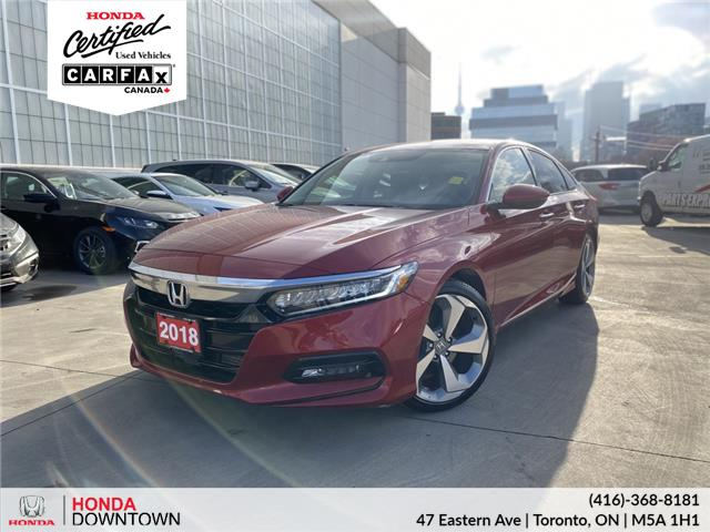 2018 Honda Accord Touring (Stk: A201263A) in Toronto - Image 1 of 33