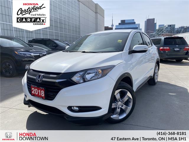 2018 Honda HR-V EX (Stk: H21410A) in Toronto - Image 1 of 27