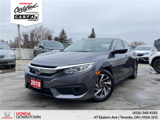 2018 Honda Civic SE (Stk: HP4064A) in Toronto - Image 1 of 27