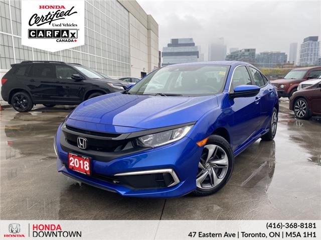 2019 Honda Civic LX (Stk: HP4272) in Toronto - Image 1 of 26
