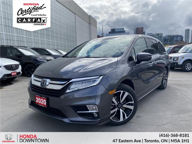 2020 Honda Odyssey Touring (Stk: T21505A) in Toronto - Image 1 of 38