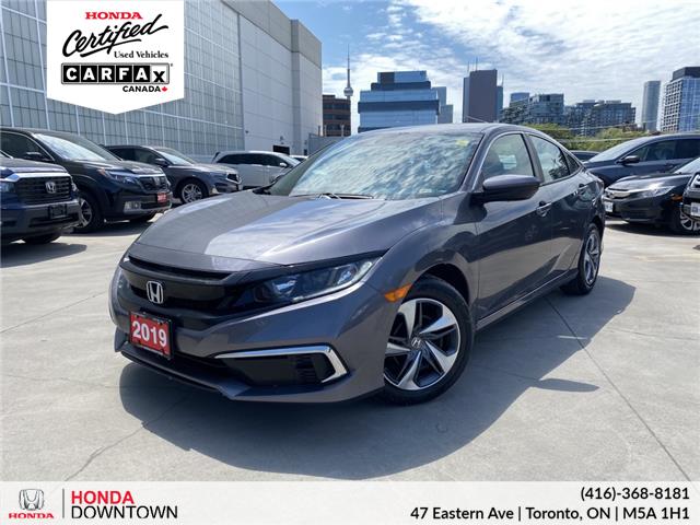 2019 Honda Civic LX (Stk: C21166A) in Toronto - Image 1 of 27