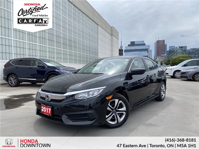 2017 Honda Civic LX (Stk: T21031B) in Toronto - Image 1 of 25
