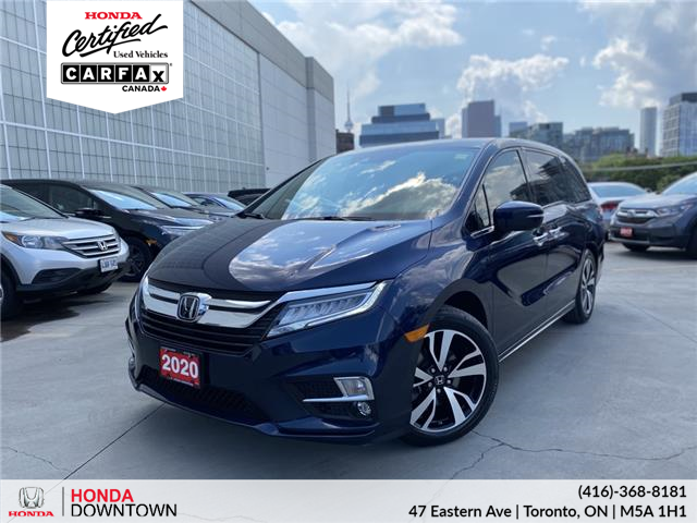 2020 Honda Odyssey Touring (Stk: Y22082A) in Toronto - Image 1 of 37