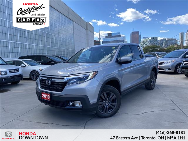2019 Honda Ridgeline Sport (Stk: HP4522) in Toronto - Image 1 of 6
