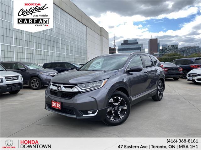 2018 Honda CR-V Touring (Stk: V21754A) in Toronto - Image 1 of 6