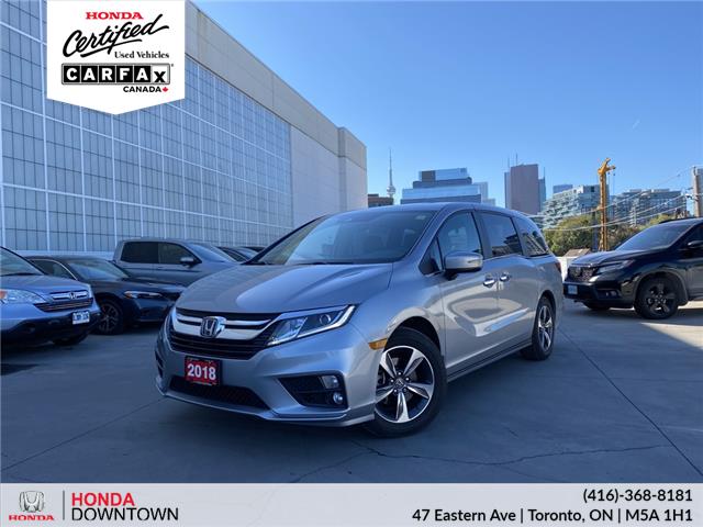 2018 Honda Odyssey EX (Stk: Y22229A) in Toronto - Image 1 of 6