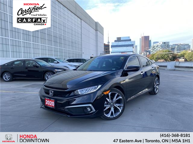 2020 Honda Civic Touring (Stk: A21607A) in Toronto - Image 1 of 28