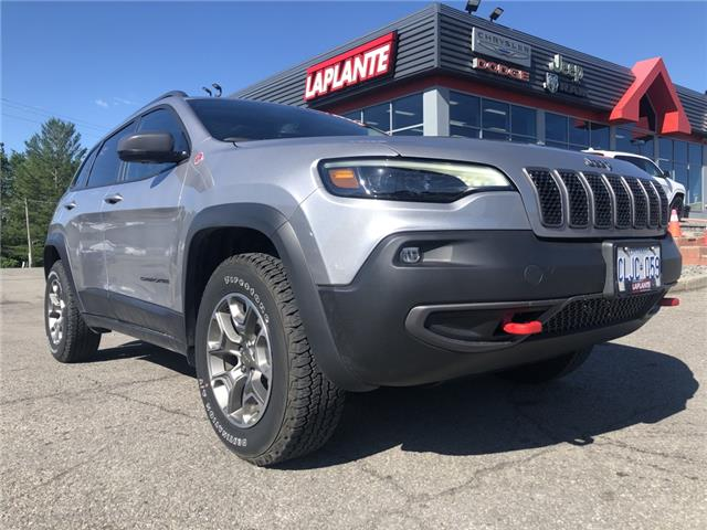 2021 Jeep Cherokee Trailhawk (Stk: 21054) in Embrun - Image 1 of 37
