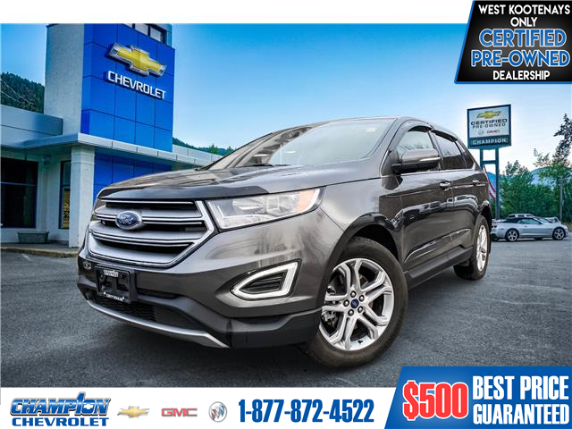 2018 Ford Edge Titanium (Stk: 21-87A) in Trail - Image 1 of 20