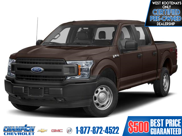 2018 Ford F-150  (Stk: 21-91A) in Trail - Image 1 of 9