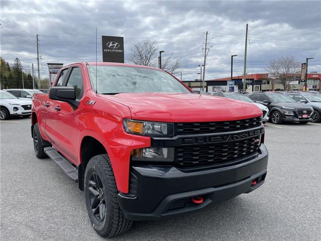 2019 Chevrolet Silverado 1500 Silverado Custom Trail Boss (Stk: P3741) in Ottawa - Image 1 of 23