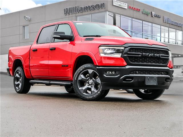 2021 RAM 1500 Big Horn (Stk: 106-21) in Lindsay - Image 1 of 24