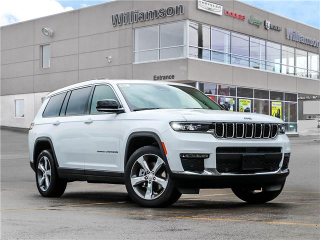 2021 Jeep Grand Cherokee L Limited (Stk: 143-21) in Lindsay - Image 1 of 30