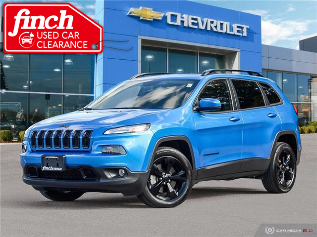 2018 Jeep Cherokee Limited (Stk: 155656) in London - Image 1 of 28