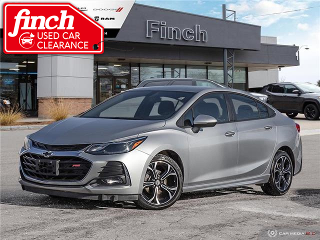 2019 Chevrolet Cruze LT (Stk: 100263) in London - Image 1 of 27
