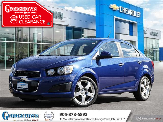 2014 Chevrolet Sonic LT Auto (Stk: 28607) in Georgetown - Image 1 of 26