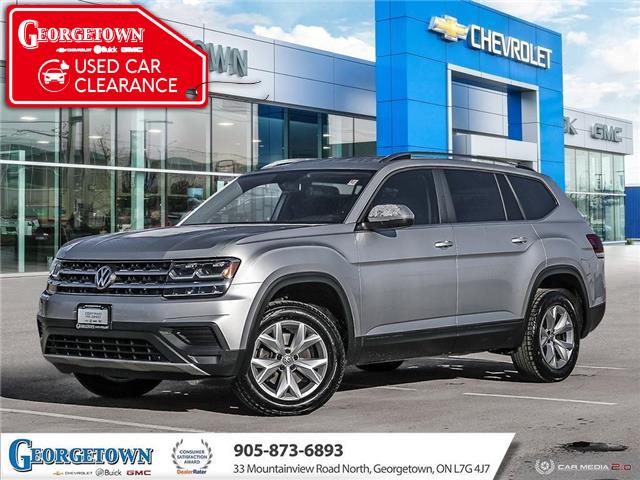 2018 Volkswagen Atlas 3.6 FSI Trendline (Stk: 32833) in Georgetown - Image 1 of 27