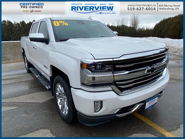 2018 Chevrolet Silverado 1500 High Country (Stk: 21119A) in WALLACEBURG - Image 1 of 22