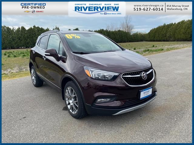 2018 Buick Encore Sport Touring (Stk: U1967) in WALLACEBURG - Image 1 of 19