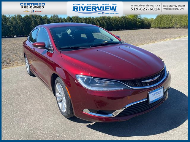 2015 Chrysler 200 Limited (Stk: 21003A) in WALLACEBURG - Image 1 of 15