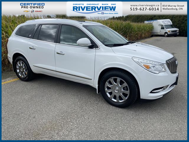 2017 Buick Enclave Leather (Stk: U2036) in WALLACEBURG - Image 1 of 19