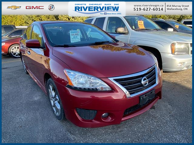 2013 Nissan Sentra 1.8 SV (Stk: 21095A) in WALLACEBURG - Image 1 of 8