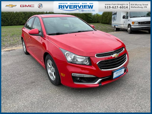 2015 Chevrolet Cruze 1LT (Stk: 21229A) in WALLACEBURG - Image 1 of 19
