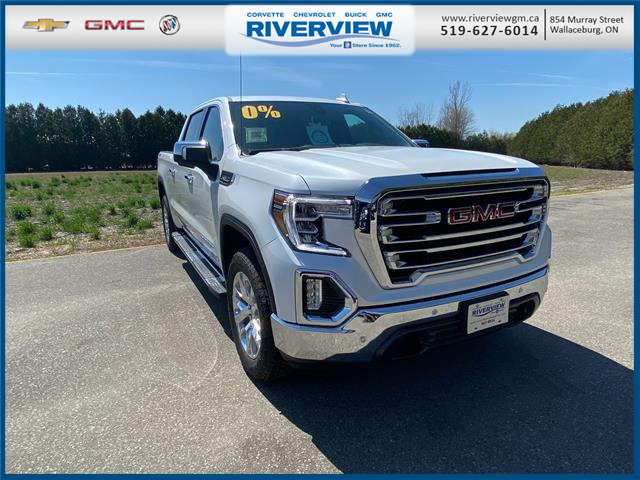 2021 GMC Sierra 1500 SLT (Stk: 21186) in WALLACEBURG - Image 1 of 20