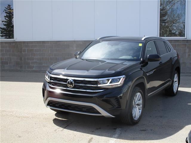 2021 Volkswagen Atlas Cross Sport 3.6 FSI Highline (Stk: 210299) in Regina - Image 1 of 41