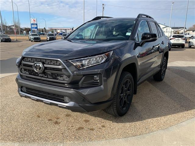 2021 Toyota RAV4 Trail (Stk: J16772) in Medicine Hat - Image 1 of 24