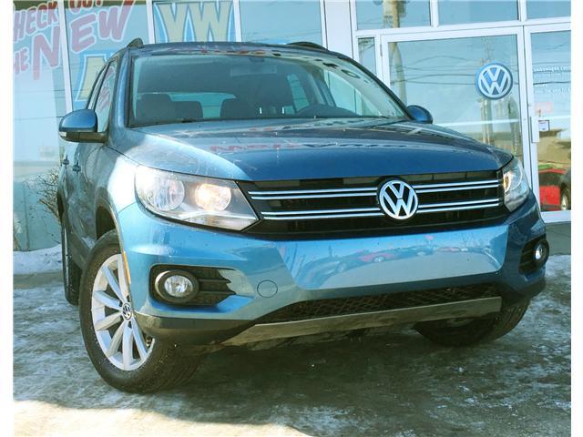 2017 Volkswagen Tiguan Wolfsburg Edition (Stk: V6716) in Saskatoon - Image 1 of 24