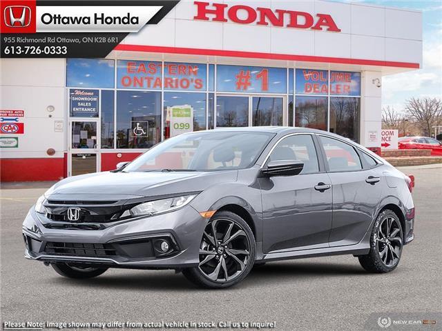 2021 Honda Civic Sport (Stk: 342630) in Ottawa - Image 1 of 23